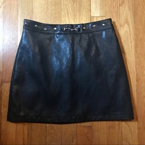 Dresses & Skirts - faux leather skirt